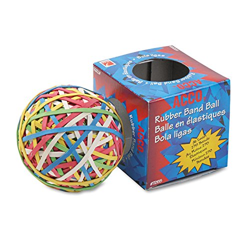 ACCO Rubber Band Balls Acco Rubber Band Ball