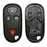 KEMANI New Remote key Keyless shell Car Case Replacement For 2002-2006 Acura TL 4 Button No Chips Inside
