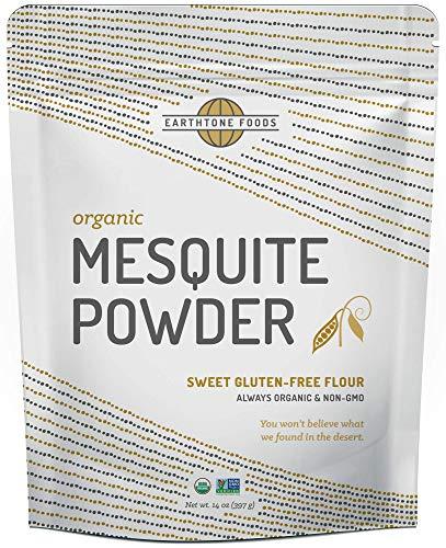 - Mesquite Powder Organic | Premium Peruvian Raw USDA & Paleo Certified Vegan Flour - Natural Fiber - Perfect for Smoothies and Baking, 14 Ounces