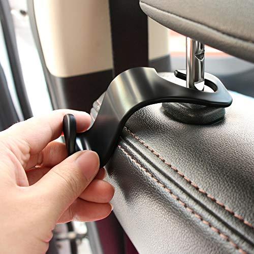 Fastener & Clip Universal Car Seat Back Storage Hooks for Fiat 500 Opel Insignia Vectra c Suzuki Swift Sx4 Hyundai Ix35 Creta Nissan Car Styling