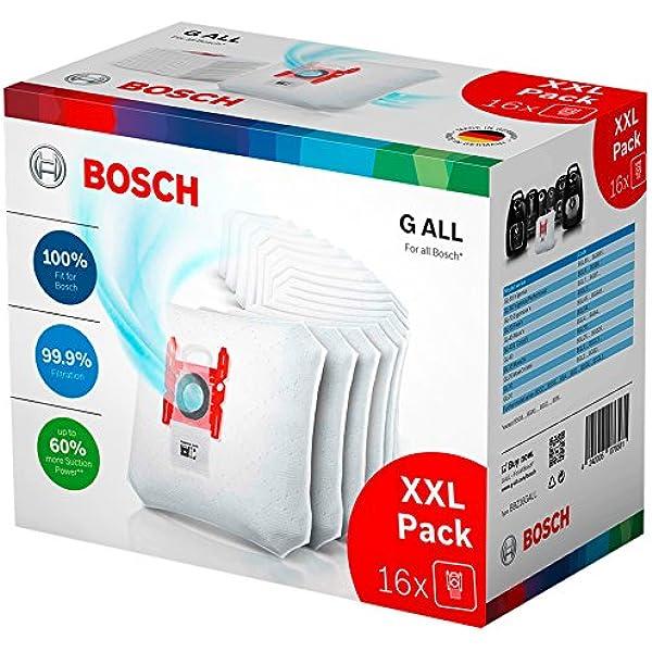 Bosch GL-20 BGN2CHAMP 2400 W - Aspiradora (2400 W, 28 kWh, 50 Hz, Aspiradora de tambor, Bolsa para el polvo, Negro): Amazon.es: Oficina y papelería