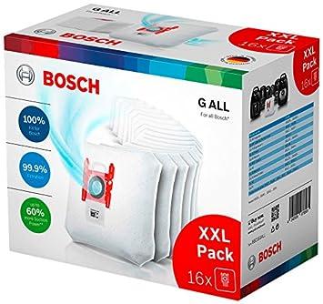 Bosch (SDA) BBZ16GALL Pack de 16 Bolsas de Aspirador ...