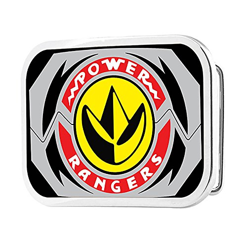 Power Rangers Live Action TV Series Dragon Zord Logo Rockstar Belt (Power Ranger Belt)