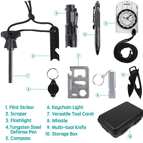 Emergency-Survival-Kit-YTATT-Multi-Professional-10-in-1-Emergency-Outdoor-Tools-Survival-Gear-Kit-for-Traveling-Hiking-Biking-Climbing-Hunting