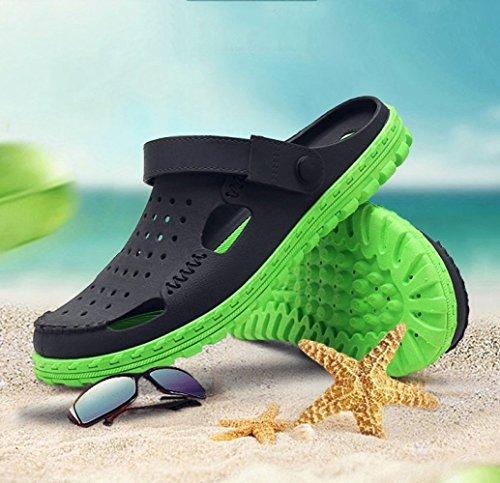 WFL scarpe uomo estate sandali scarpe uomo da e da ciabatte Sandali uomo da marea scarpe spiaggia da da da uomo 1 estiva uomo mezza da uomo gXgwqU