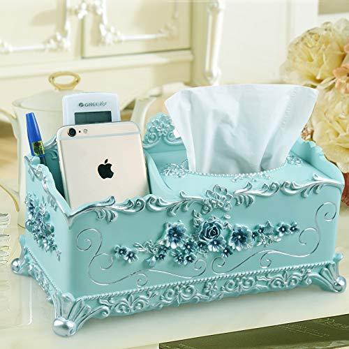 Taihang Multifunktionswäschekasten Fernbedienung Aufbewahrungsbox Europäischen Stil Wohnzimmer Hause Hause Hause kreative Papiertaschentuch (Farbe   Rosa) B07NWQ94XB Toilettenpapieraufbewahrung ea6217