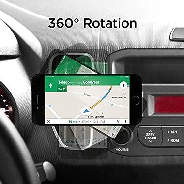 Spigen QS11 Quad Car Phone Mount Magnetic Air Vent Phone Holder | QNMP Compatible with Most Smartphones - Black 13