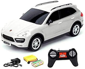 Buy Rc Porsche Cayenne Turbo 1 24 Rechargeable Toy Car Multicolor