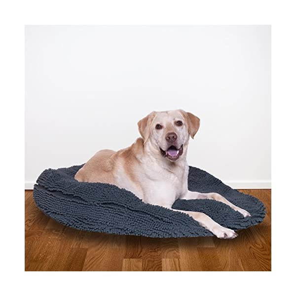 "My Doggy Place - Ultra Absorbent, Soft Comfort, Microfiber Chenille Dog Bed Cushion Mat, Durable, Quick Drying, Washable (Gray, Extra Large (36"" x 6"")) 2"