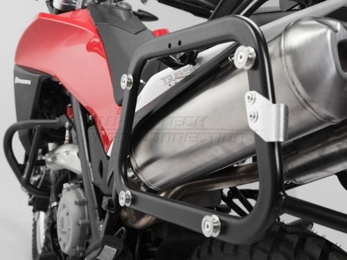 (SW-MOTECH Quick-Lock EVO Sidecarriers to fit Many Side Case Types For Husqvarna TR650 Terra '13 & TR650 Strada '13)