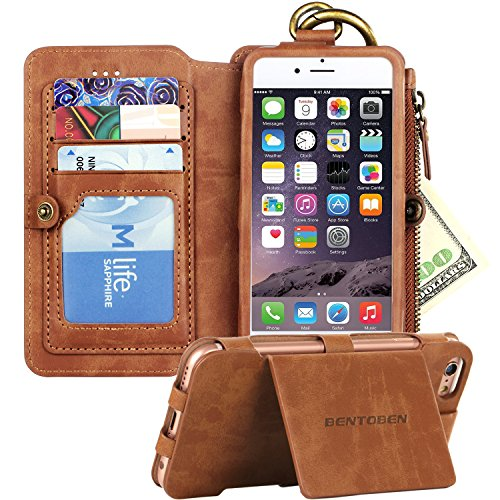 iPhone BENTOBEN Kickstand Leather Detachable