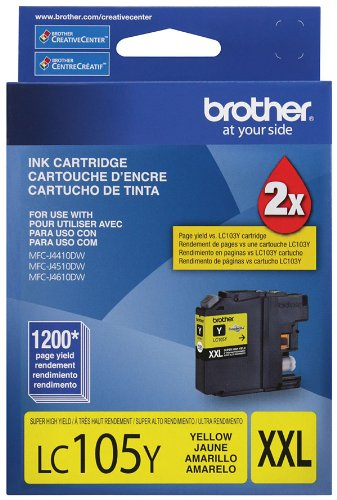 Brother LC105Y OEM Ink MFC J4310DW