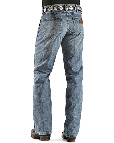 Bootcut Worn In Jeans (Men's Wrangler Retro Slim Boot Cut Jeans, Worn In, W36 L36)