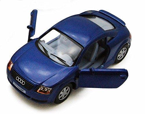 - Audi TT Coupe, Blue - Kinsmart 5016D - 1/32 scale Diecast Model Toy Car