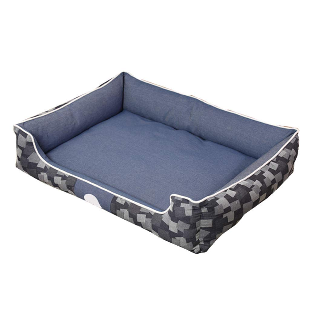 A SmallPet house Pet Bed, Comfortable Soft Mattress Dog Sofa Suitable For Medium And Large Dogs (color   A, Size   S)