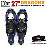 New MTN Extreme Lightweight All Terrian Man Woman Kid Teen Snowshoes up to 255 lbs /Free Bag (27inch)