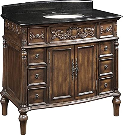 Amazoncom Bathroom Vanities Inch With Top And Sink Victorian - Victorian style bathroom cabinets