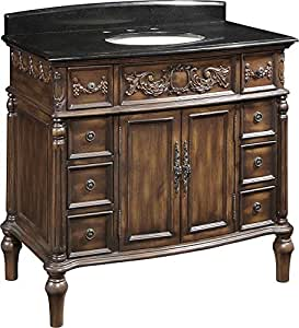 Amazon.com: Bathroom Vanities 40 Inch with Top and Sink ...