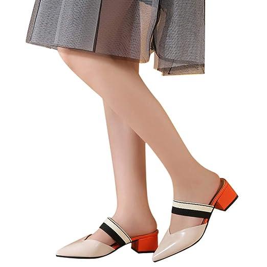 8d68bdcf8876 Memela Shoe  Womens Sandals Pointed Toe Knot Bow Flats Mule Slides Sandals  Slip On Shoes