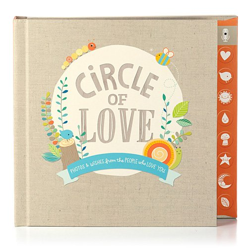 Hallmark Baby Circle of Love Press & Play Recordable Photo Memory Book