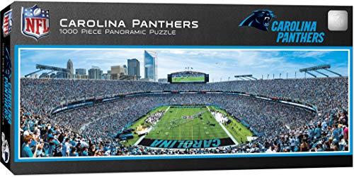 - MasterPieces NFL Carolina Panthers 1000 Piece Stadium Panoramic Jigsaw Puzzle