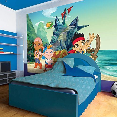 Disney Jake and The Neverland Pirates Wallpaper Mural