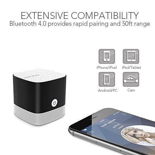 galleon portable bluetooth speaker mini bluetooth speaker small bluetooth speaker with big. Black Bedroom Furniture Sets. Home Design Ideas