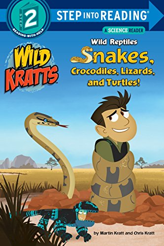 Wild Reptiles: Snakes, Crocodiles, Lizards, and Turtles (Wild Kratts) (Step into Reading) (Interesting Facts About The Amazon River Dolphin)