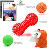 Massage Balls Deep Tissue Trigger Point Foot Massager Spiky Roller Ball