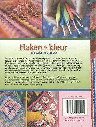 Haken En Kleur Amazoncouk Claire Boeter Saskia Laan Yvonne