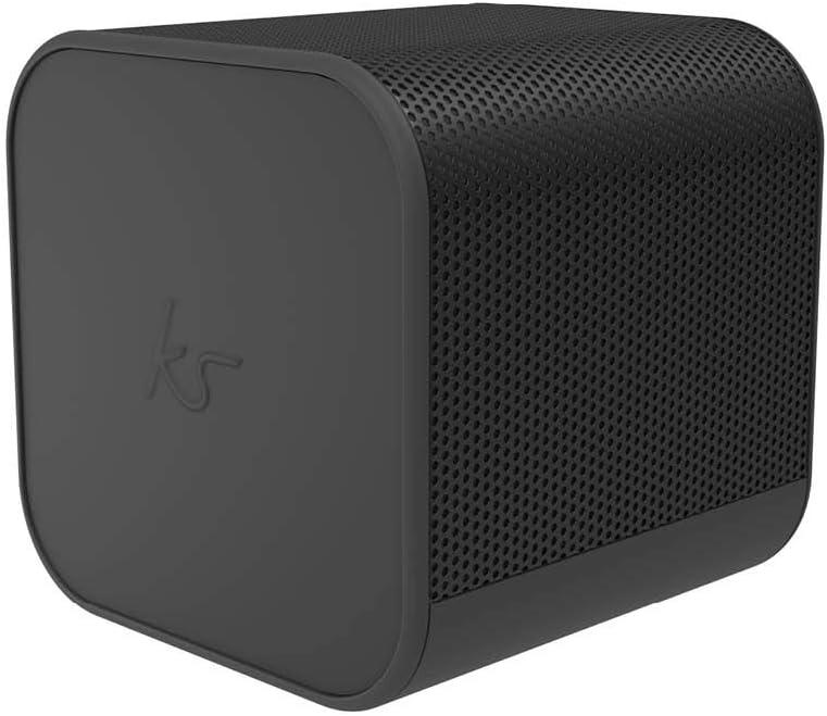 KitSound Boom Cube - Altavoz inalámbrico, Color Negro