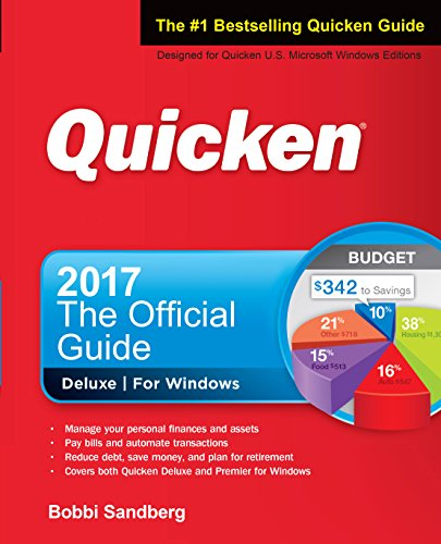 Picture of a Quicken 2017 The Official Guide