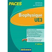 Biophysique - UE3 PACES - 3e éd. : Manuel, cours + QCM corrigés (French Edition)