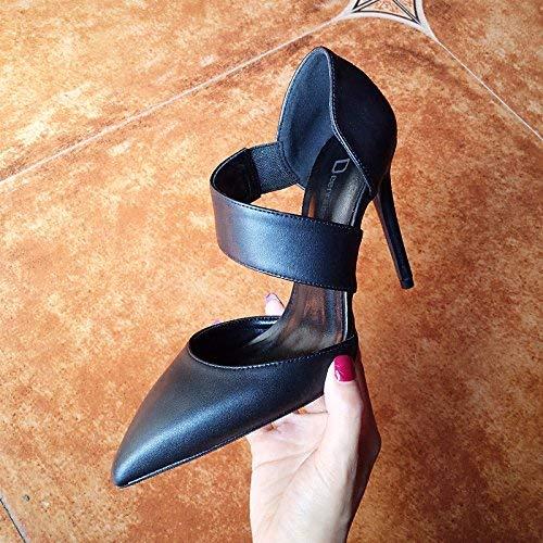 Baotou Noirs La 40Taille Black Sandales Professionnels Des Talons Hhgold Bien MaréecoloréEu 8cm37 FemmeMot Avec Hauts Escarpins OPilXwTZku
