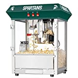 Great Northern Popcorn Company Michigan State University Spartans Popper Machine Table, Green