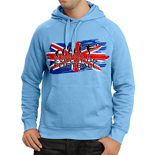 fan products of N4450H Hoodie Evolution Football (Medium Blue Multicolor)