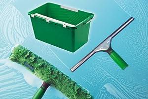 UNGER Glasreinigungs Set praktisches Starter Set für die Glasreinigung
