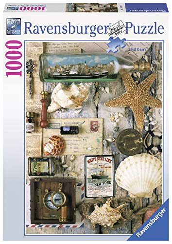 Ravensburger Maritime Souvenirs 1000 Piece Jigsaw Puzzle for Adults - Every Piece is Unique, Softclick Technology Means Pieces Fit Together Perfectly