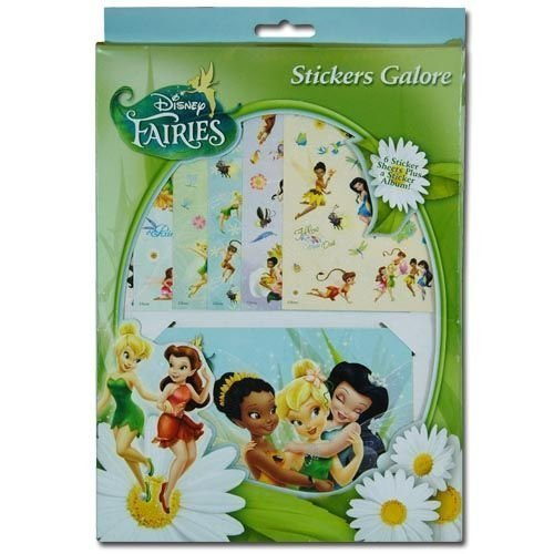 Disney fairies tinkerbell stickers galore sticker sheets and album amazon co uk toys games