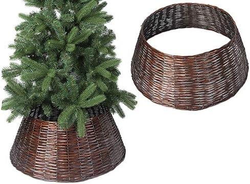 Toyland 69cm Dark Brown Willow Tree Skirt Tree Base Cover Christmas Decoration Seasonal Decor Amazon Com Au