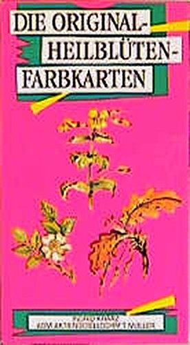 Die Original - Heilblüten- Farbkarten. 77 Karten. (38 Grundkarten und 39 Meditationskarten)