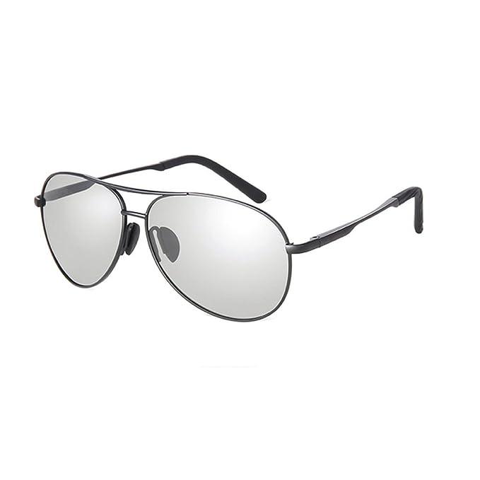 11f376356a MINCL Men s Photochromic Polarized Driving Sunglasses UV400 (black- photochromic