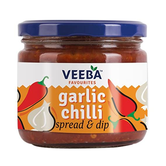 Veeba Garlic Chilli Spread and Dip, 335g