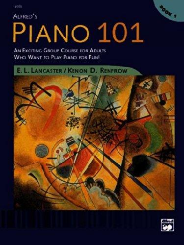 Alfred's Piano 101,Book 1