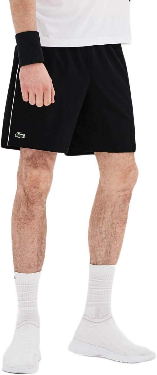 Lacoste, Novak Djokovic Shorts Herren-Schwarz, Weiß, XXL Ropa de ...