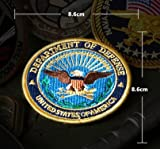 NEW DOD DEPARTMENT OF DEFENSE OFFICIAL EMBROIDERED VELCRO PATCH