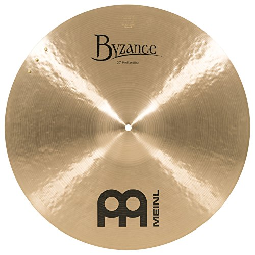 Meinl Cymbals B20MR-S Byzance 20-Inch Traditional Medium Ride with Three Rivets ()