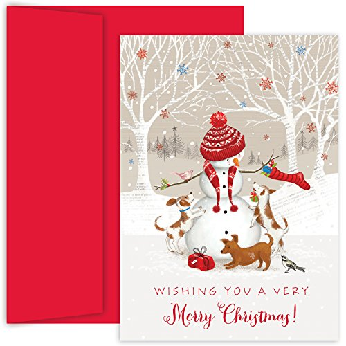 Masterpiece Studios Holiday Collection Boxed Cards, Snowman and  Friends, 18 Cards/18 Envelopes (Masterpiece Studios Stationery)