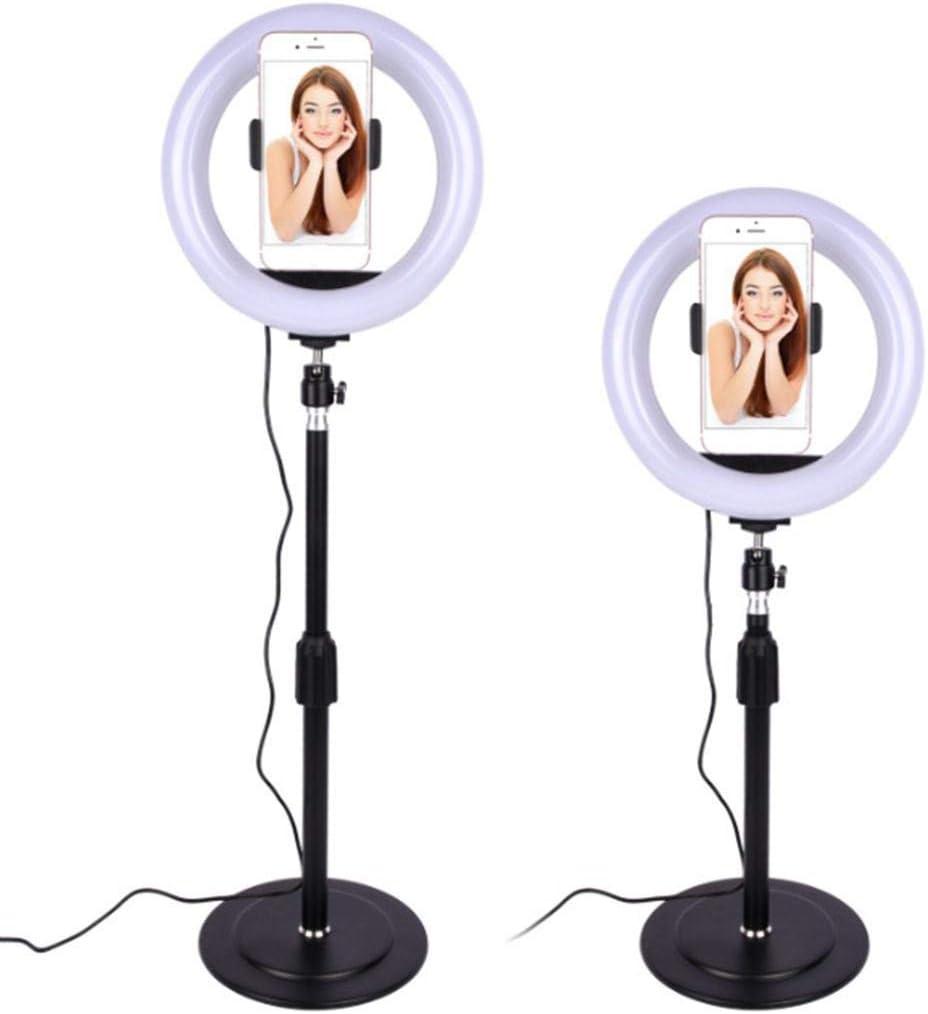 Zippem Dimmable Studio Photo Video Live Lamp Phone LED Ring Fill Light On-Camera Video Lights