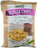 Simply 7 Quinoa Chips Sour Cream & Onion -- 3.5 oz - 2 pc